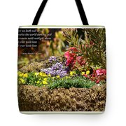 And So In This Moment With Sunlight Above II Tote Bag