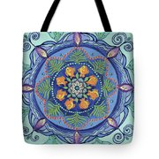 And So It Grows Expansion And Creation Tote Bag