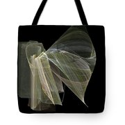And The Angel Spoke..... Tote Bag