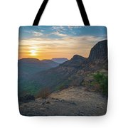 And The Day Begins Tote Bag