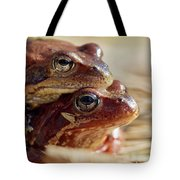 And Then I Found You. European Common Brown Frog Tote Bag