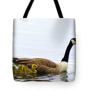 And The Littlest One Shall Lead The Way Tote Bag