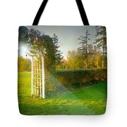 And The Trellis Tote Bag