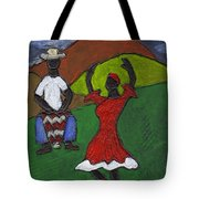 and Then She began to Dance Tote Bag