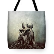 And Though We Fade Away Tote Bag