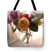 And Violet Roses Too Tote Bag