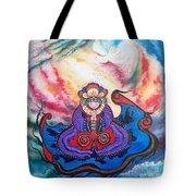 Flygende Lammet      And We Pray Tote Bag