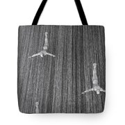And When The Rain Began... Tote Bag