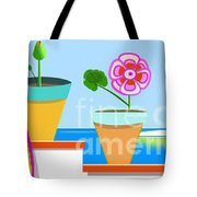 Andalusian Roof Tote Bag