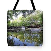Anderson Falls, Indiana Tote Bag