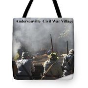 Andersonville Civil War Village Tote Bag