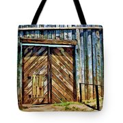 Andersonville Gateway To Hell Tote Bag