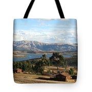 Andes Lake Tote Bag