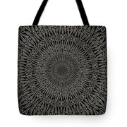 Andoluvium Metal Mandala Tote Bag