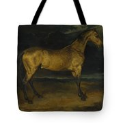 Andre Theodore Gericault   A Horse Frightened By Lightning Tote Bag
