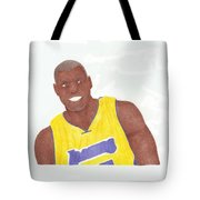 Andrew Bynum Tote Bag