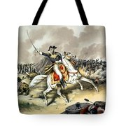 Andrew Jackson At The Battle Of New Orleans Tote Bag