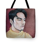 Andrew Portrait Tote Bag