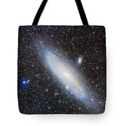 Andromeda Galaxy With Companions Tote Bag