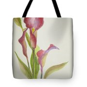 Andy's Calla Lillies Tote Bag