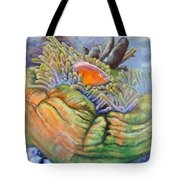 Anemone Coral And Fish Tote Bag