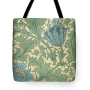 Anemone Design Tote Bag