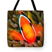 Anemone Fish Tote Bag