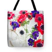 Anemone Flowers  Tote Bag