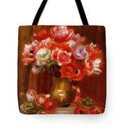 Anemones 1909 Tote Bag