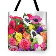 Bouquet Of Anemones Tote Bag