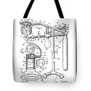 Anesthetic Machine Patent 1919  Tote Bag