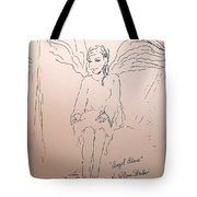 Angel Above Tote Bag