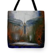 Angel Abstract  Tote Bag