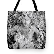 Angel And Child Tote Bag