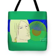 Angel And The Light Tote Bag