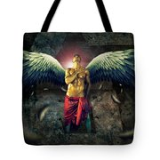 Angel Body Art Tote Bag