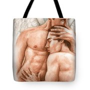 Angel Embrace Tote Bag