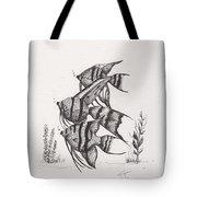 Angel Fish Tote Bag