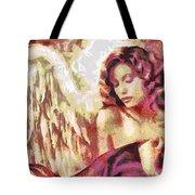Angel Fragmented Tote Bag