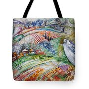 Angel From Jacob's Ladder Tote Bag