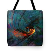 Angel From The Deep Tote Bag