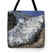 Angel Glacier Tote Bag