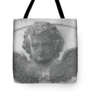 Angel In Grey Tote Bag