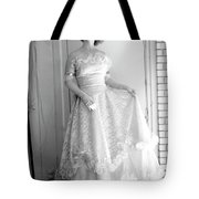 Angel In My Backyard Tote Bag