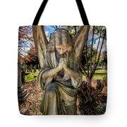 Angel In Prayer Tote Bag