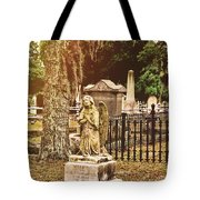 Angel In Stone Tote Bag