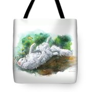 Angel In The Morning Tote Bag