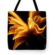 Angel In The Sky Fireworks Tote Bag