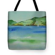 Angel Island Unplugged Tote Bag
