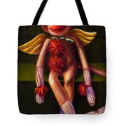 Angel Made Of Sockies Tote Bag